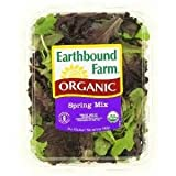 EARTHBOUND FARM ORGANIC SALAD MIX SPRING MIX BAGGED 5 OZ PACK OF 2
