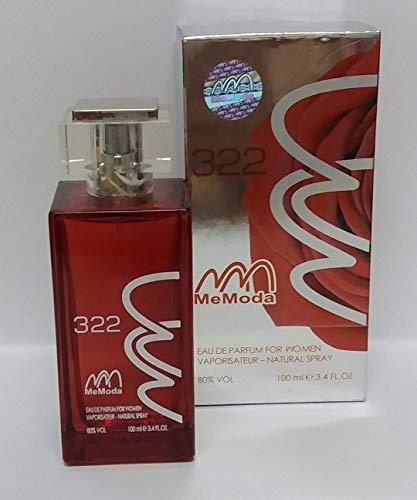 Memoda 322 eua de parfum impression of AMOR AMOR by Cacharel for women