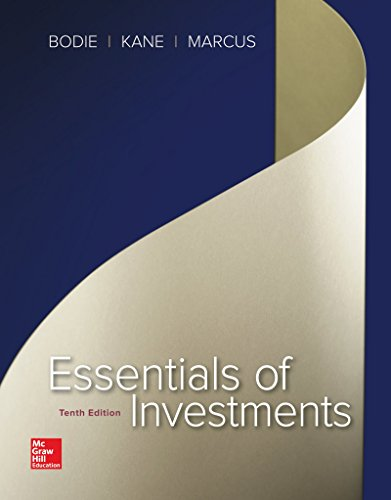 Essentials of Investments (The Mcgraw-hill/Irwin Series in Finance, Insurance, and Real Estate) by McGraw-Hill Education