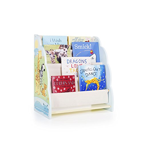 Amazon.com: Guidecraft Wood Hand-painted Savanna Smiles Book ...