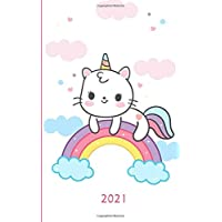 2021: UK Diary 2021 – Page A Day / Planner / Organiser / Journal Writing / Gratitude Journal / Family Diary / Cute…