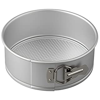 Wilton Aluminum Springform Pan, 8-Inch Round Pan for Cheesecakes and Pizza