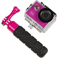 Kitvision KVFRESHACBPI Fresh 720P Action Camera with Floating Grip, Pink