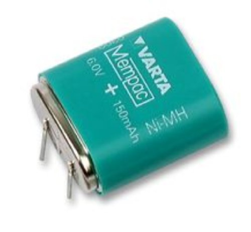 - Varta 5/V150H 6V 150mAh NiMH Button Cell Battery