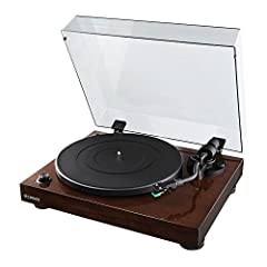 Fluance's RT81 High Fidelity Turntable plays traditional LP and EP vinyl records with stunning quality that achieves the purest sound reproduction. When you want the absolute best in music performance, pull out your favorite 33 1/3 or 45 RPM ...