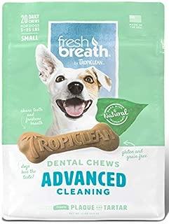 product image for TropiClean – Fresh Breath Plus Dental Dog Treats