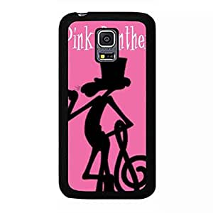 Famous Cartoon Pink Panther Phone funda Samsung Galaxy S5 Mini Back Cover for Pink Panther