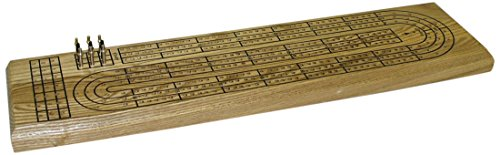3 Track Wood Cribbage