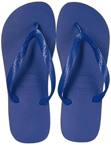 Havaianas Women's Top Flip Flop Sandal,Marine Blue, 37/38 BR(7-8 M US Women's / 6-7 M US Men's)