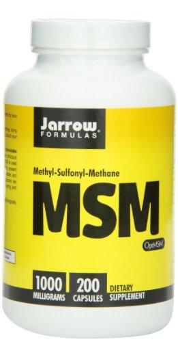 Jarrow Formulas MSM Sulfur, 1000mg, 200 Capsules, Health Care Stuffs
