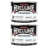 2-Pack Herculiner HCL0B7 Brush-on Bed Liner - Quart