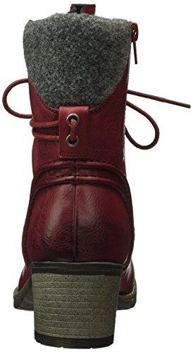 Granit 92544 Rieker Femme Rouge Wine Bottes xfwXnRq1T