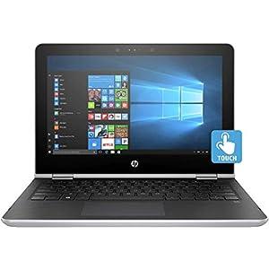 HP Pavilion x360 11-ad106tu 11.6-inch HD Laptop (8th Gen Intel i3-8130U/4GB DDR4/1TB HDD/Win10/No DVD/Intel UHD Graphics 605), Natural Silver