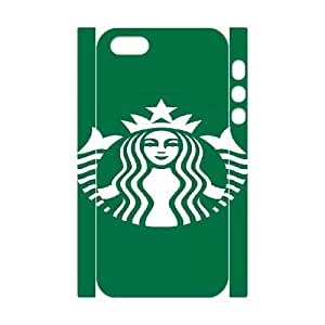 Starbucks For iphone5 5S 3D Cell Phone Case White BTY636744