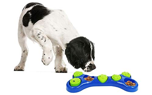 SmartChoice Dog Feeding Game Food Hidding Game Interactive Dog Bowl Dog Toy Helps Reduce Dog Weight 3