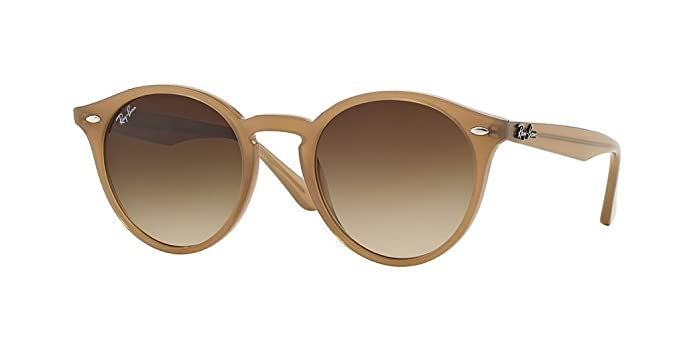 a9994fa90a6 Image Unavailable. Image not available for. Color  Ray Ban RB2180 616613  51mm Turtledove Round Sunglasses ...