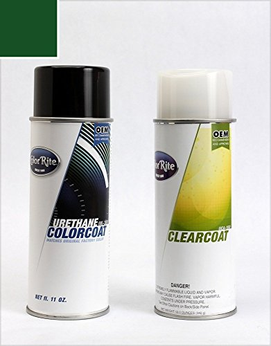 ColorRite Aerosol Honda Civic Automotive Touch-up Paint - Cypress Green Pearl Clearcoat G-82P - Color+Clearcoat Package