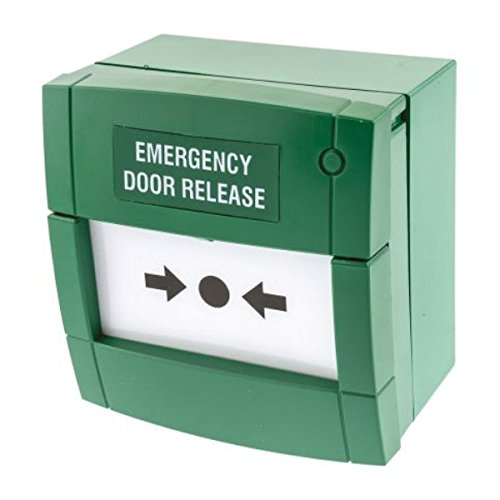 KAC MCP3A Emergency Door Release 'Break Glass' Unit (Green)
