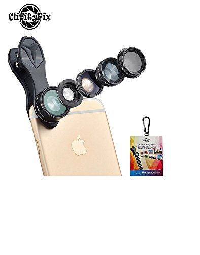 ClipityPix 5 in 1 Universal Clip On Cell - Camera Attachment Kit Shopping Results
