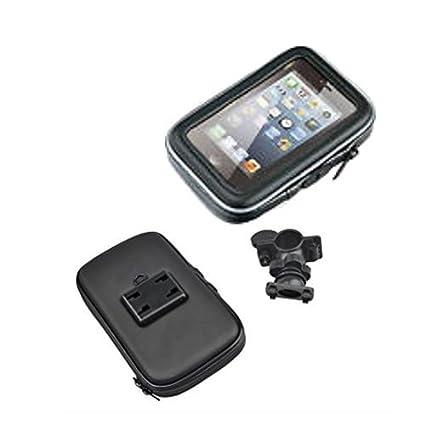 Funda soporte Carcasa porta Smartphone GPS para moto scooter ATV ...