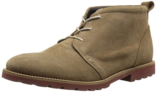 UPC 889131591553, Rockport Men's Sharp and Ready Charson Synthetic Chukka Boot, New Vicuna Suede, 13 W US
