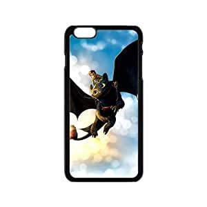 Black bat and man Cell Phone Case for Iphone 6