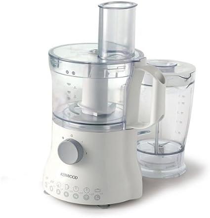 Kenwood FP220 - Procesador de alimentos, 750 W, bol de 2,1 litros, color blanco: Amazon.es: Hogar