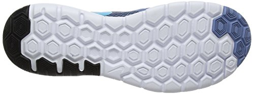 Nike Flex Experience Rn 6 - Zapatillas de running Hombre Azul (Work Blue/chlorine Blue-black-white)