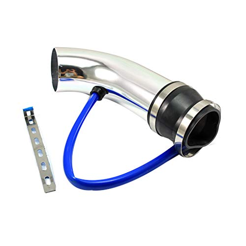 Floridivy 75mm Black Aluminum Car Cold Air intake tube Auto Intake Filter Pipe Hose Tube Kit Universal Car Accessories: Amazon.co.uk: Kitchen & Home