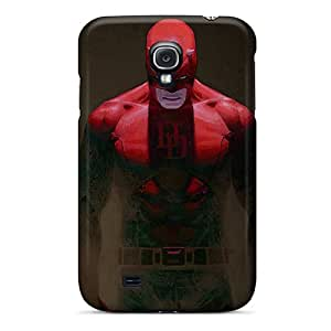 First-class Case Cover For Galaxy S4 Dual Protection Cover Daredevil I4