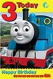 Thomas The Tank Engine Age 3 Birthday Card