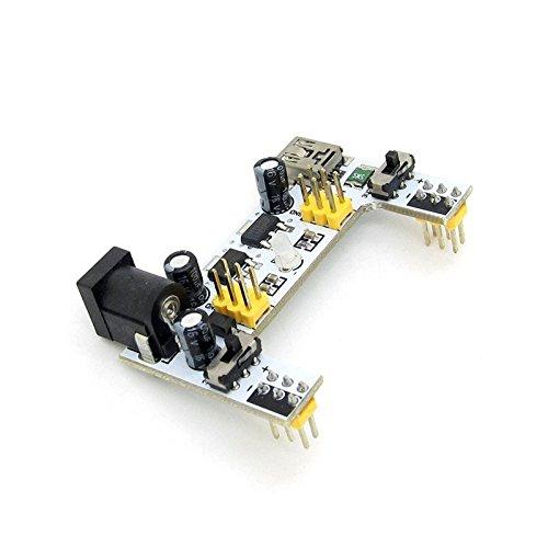 2 Channels 5V 3.3V Breadboard Power Module Pack of 2 SenMod