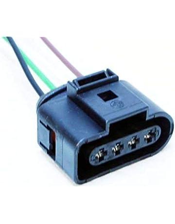 Lot de 4 000979133E 4B0973724 Kit R/éparation C/âble Faisceau de C/âblage Fiche /Électrique Prise de Connectique Connecteur Plug Adaptateur Bobine dAllumage 036905715 1J0973724 20113//40 1J0 973 724