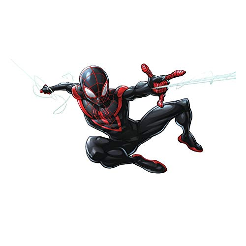RoomMates Spider-Man Miles Morales Peel And Stick Giant Wall Decals by RoomMates (Image #2)