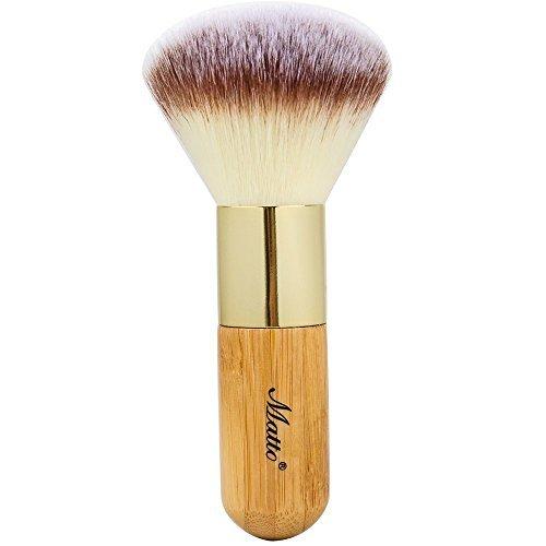 Matto Bamboo Powder Mineral Kabuki Brush - Large Coverage Powder Mineral Foundation Makeup Brush 1 Piece