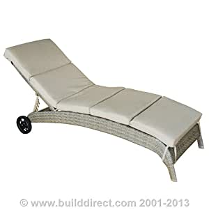 Kontiki Patio Furniture - Palau Sunbrella Series - Chaise Loungers (2 Pack)