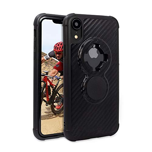 Rokform Crystal [iPhone XR] Slim Magnetic Protective Cases with Twist Lock - Carbon Black