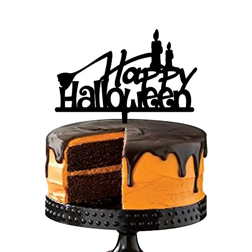 Scary Halloween Party Cake Decoration, Melted Candle Cake Toppers, Festival Party Favors Supplies -