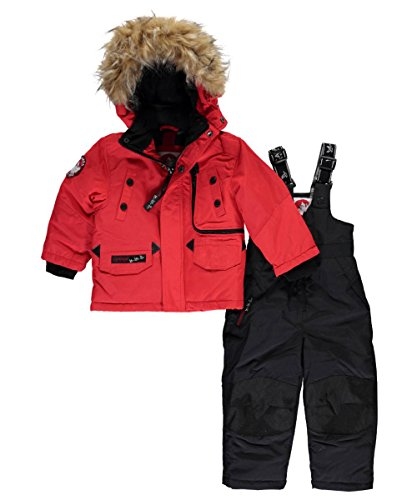 canada-weather-gear-baby-boys-zip-track-2-piece-snowsuit-red-12-months