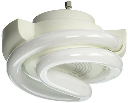 TCP 33213SSP Low Profile SpringLamp CFL - 60 Watt Equivalent (13-watt used) Soft White (2700-Kelvin) GU24 Base Squat Spiral Light Bulb (Cfl Springlamp)
