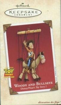 Hallmark Keepsake Ornament - Toy Story's Woody and Bullseye 2002 (QXD4933) (Story Ornament Toy Christmas)