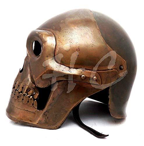 Medieval Skeleton Armour Helmet Viking Mask Spectacle Roman knight - Mask Viking Skull