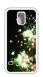 FSKcase? Muiltcolor Firework Hard PC case for samsung galaxy s5 purple