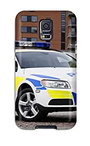 CATHERINE DOYLE's Shop Best Case Cover 2008 Volvo V70 Police Car/ Fashionable Case For Galaxy S5