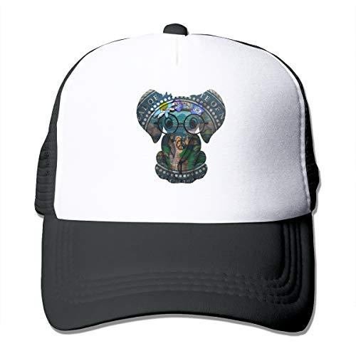 Nebraska Flag State Emblem Classic Trucker Hat Adjustable Baseball Cap for Men and Women Black]()