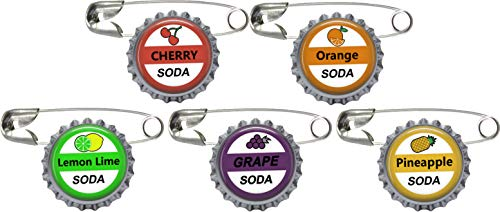 5 Soda Bottle Cap Pins Inspired by Up