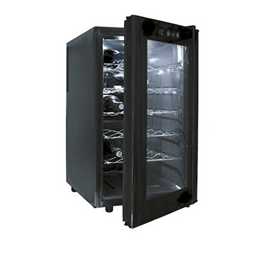 Lacor 18 Bottles Black Line Wine Cellar - Black Lacor Menaje Profesional S.L. Lacor_69171