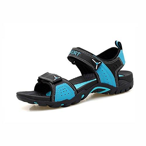 Größe Farbe YaXuan Sport Strand Paar Wanderschuhe Sommer Outdoor Sandalen Modetrends Sandalen Bequeme Sandalen Zehen B Flachen E Offene Klettverschluss 36 Schuhe BBUpaqg