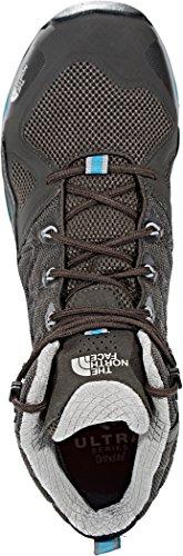 The North Face M Ultra GTX Surround Mid, Men's Walking Shoes Beluga Grey/Algiers Blue