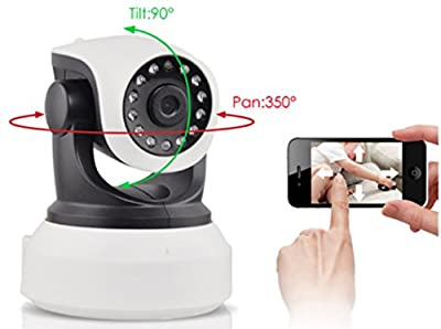 Dog Monitor - Camera Monitor- Check On Your Pet From Anywhere Any Time Pan Tilt The Camera From Your Smart Phone Dog Cameras With Phone App Two Way Audio HD Indoor Wifi IP Camera 2.4ghz Not 5g